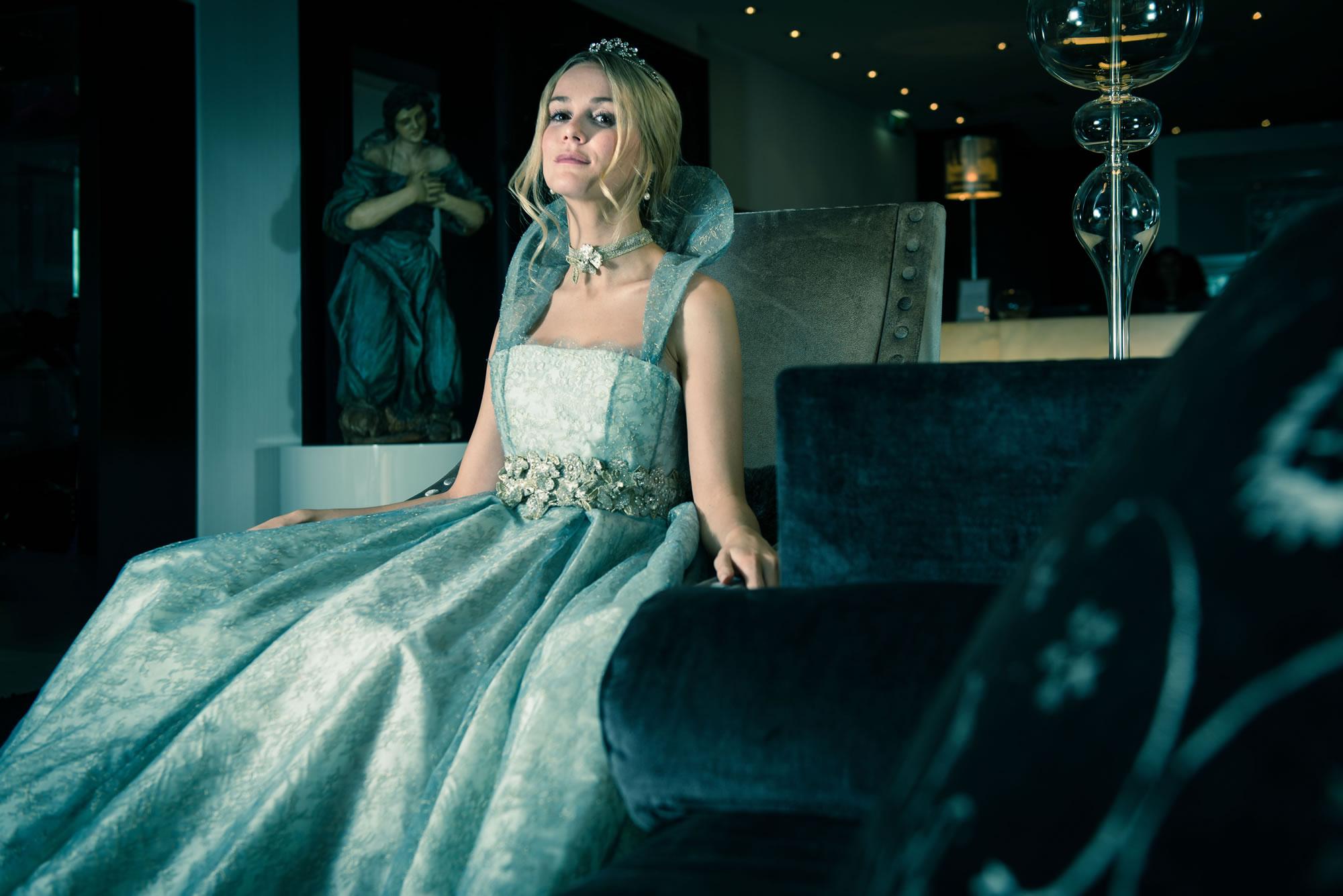Shimmering Ivory Custom Wedding Dresses Bridal Couture Harpenden St ...